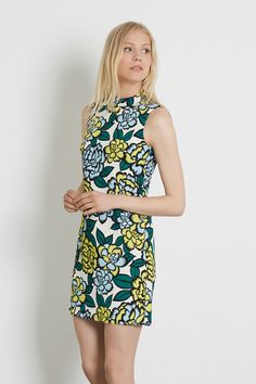 Florals & Prints | Other FLORAL SLEEVELESS SHIFT DRESS | Warehouse