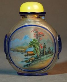 A Reverse-painted Snuff Bottle