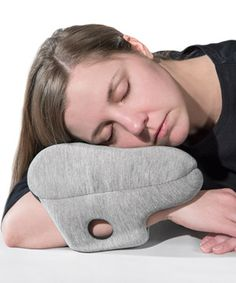 Ostrich Pillow Mini If you know me, you know I'm a fan of napping, and anything that helps to make that possible is going on my wish list. -SS