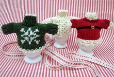 Debbie Bliss Christmas Jumper Egg Cosies