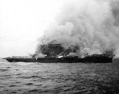 USS Lexington (CV2) 8 May 1942 Coral Sea