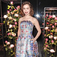 Lily Collins's Print Deserves Your Attention