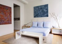 Modern Bedroom and Desai/Chia Architecture in New York City