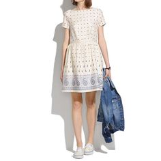 Madewell - Nomad Paisley Dress