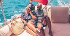 Black Travel Vibes: This Couple's Bodrum Baecation Has Us Dreaming Of Turkey It was fantastic to meet you. We are delighted you enjoyed Bodrum and the surroundings 😘 Read the lovely article in the link:-) Seaside Restaurant, Classic Yachts, Seaside Towns, Stunning View, Greek Islands, Day Trips, Cruise, Things To Come, Couples