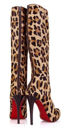 animal print boots ✤ | Keep the Glamour | BeStayBeautiful