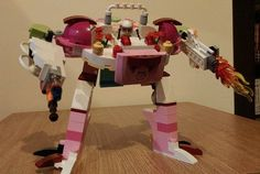 Girl ditches LEGO juice bar kit instructions to build this mighty robot instead! | Inhabitots