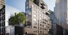 New Condo Projects Dress Up TriBeCa - The New York Times