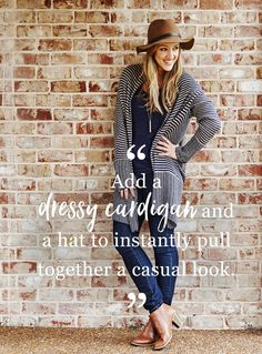 "BCBGMAXAZRIA Cardigan $48,  Gap Jeans $17.  ""If I can get fashionable clothes at a fraction of the price, that's a win-win.""  Inside Edition correspondent and badass mom Megan Alexander shares her secondhand style picks. Shop her favorites right this way.   thredUP can help you styleUP�experiment with a new style or brand today. Everything up to 90% off! Sign up and start shopping today!"