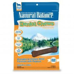 Natural Balance Dental Chews Dog Treats, L. Limited Ingredient Treats Duck Meal Formula, Grain Free, For Medium Dogs, --- You could find more details by visiting the image link. (This is an affiliate link and I receive a commission for the sales) Dog Dental Chews, Dog Dental Care, Dog Chews, Pet Care, Meds For Dogs, Dog Treats Grain Free, Chicken For Dogs, Mini Dogs, Balance