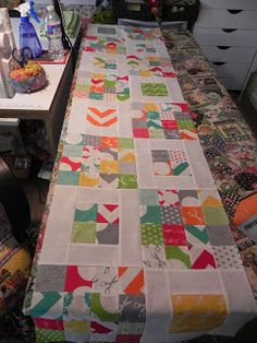 Different squares charm pack quilt tutorial