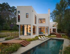 Modular House Goes Modern in Maryland (Freshome)
