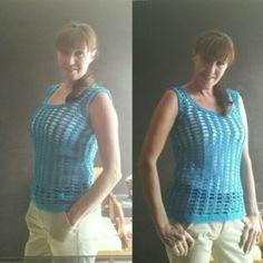 Blusa turquesa