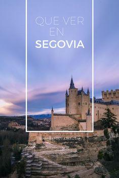 Si estas preparando tu visita y aún no tienes muy claro que ver en Segovia en un día, te vamos a mostrar todo lo que no te puedes perder en la ciudad del acueducto más famoso de España. Madrid, Europe, Weather, Country, City, Travel, Flyers, Portugal, Trips
