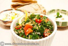 SALATA-TABOULEH Lebanese Recipes, Quinoa, Recipies, Food And Drink, Mexican, Healthy Recipes, Cooking, Ethnic Recipes, Food