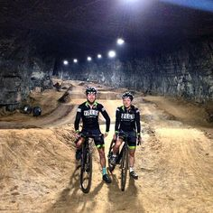 World's Biggest (only?) underground bike park set to open Jan 2015. It's in an old mine in Louisville, Kentucky