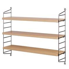 Raw String Pocket shelf.