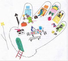 A kesztyű Diy And Crafts, Crafts For Kids, Children's Literature, Future Baby, Games For Kids, Winter, Kindergarten, About Me Blog, Activities