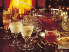 Great drink/beverage recipes for your up coming holiday get together...