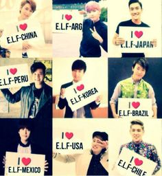 Super Junior Yay for the United States!!!