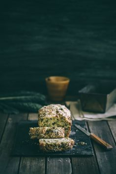 Kale and feta bread