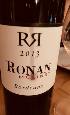 Ronan by Clinet 2013 #wine #bordeaux