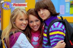 Lily and Miley Miley Cyrus, Hannah Montana Forever, Miley Stewart, Emily Osment, World Tv, Disney Channel Stars, Nostalgia, Sophie Marceau, Debby Ryan