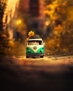 Magical miniature toy car still life photography by fine art photographer ashraful arefin Miniature Photography, Cute Photography, Still Life Photography, Creative Photography, Vw Bus, Volkswagen, Photo Background Images, Photo Backgrounds, Cool Pictures For Wallpaper