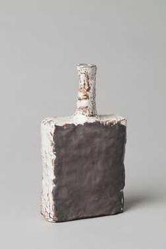 Vaas (1950 - 1965) Aardewerkfabriek Mobach Pottenbakkers. Keramiek, geglazuurd.