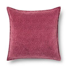 Throw Pillow Stonewashed Chenille Oversized - Threshold™