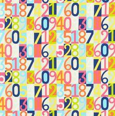 Sum it up Fabric Harlequin  www.decorteamus.com