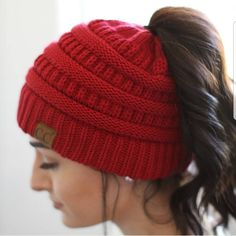 ad As if we didn't love the ponytail hats enough, they now have pony tail beanies!! LOVE!!! Keep your hair on point and your head warm, these are perfect for Fall! Only $19 shipped