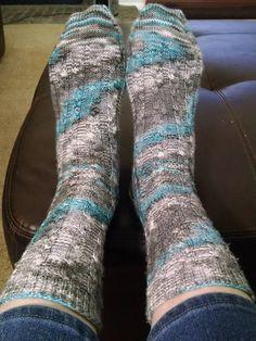 Talia's Socks, August #knitfromstash2015, yarn Alegria