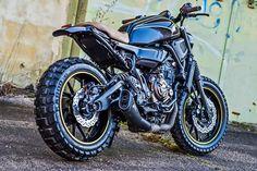 """Yamaha XSR700 """"Dirty Smoke"""" by Motomax Maxxess"""