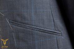 Blue Glen Plaid Fancy Summer Suit — De Oost Bespoke Tailoring