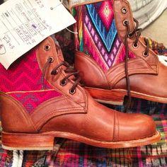 Shared via {Instagram} Handmade Teysha Boots! @teysha_is
