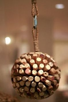 there is only one person I know who could make this--Abby! I want them to keep all corks from the wedding night and you can make this after!