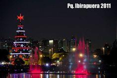 Árvore de Natal Parque Ibirapuera T74Brasil