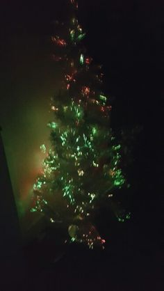 Fibre optics xmas tree