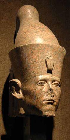 Senusret III (Khakaura), c.1870-1831 BC, 12th Dynasty. Carved from Red Granite. From Karnak