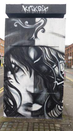 Kriksix Manchester Street Art