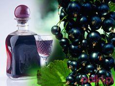 nalewka z czarnej porzeczki, czarne porzeczki, very popular Polish black currant juice Wine Drinks, Cocktail Drinks, Cocktails, Polish Recipes, Irish Cream, Healthy Drinks, Nespresso, Liquor, Vodka