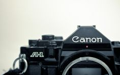 Canon A1  my first SLR camera.  priceless.