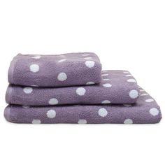 Deyongs 1846 Polka Bath Towel, Lilac