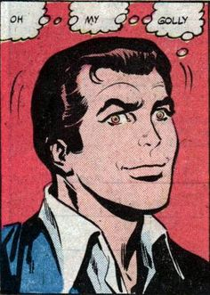 "Comic Boys Say... ""O...M...G...""  #comic #vintage #popart"
