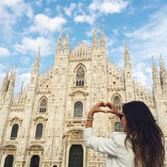 Blogger Insta-Diaries: 26 Gorgeous Photos From the Streets of Milan via @WhoWhatWear
