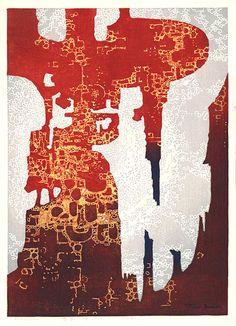 Woodblock Print by Toshi Yoshida