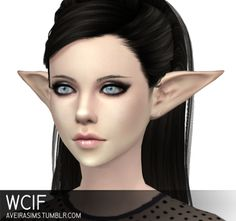 Anonymous said: WCIF the elf ears you used on Moxi and Isobel :) thanks Answer: Elf ears by @notegain
