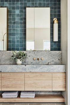 Cheap Home Decor .Cheap Home Decor Guest Bathrooms, Bathroom Renos, Modern Bathroom, Bathroom Wall, Bathroom Ideas, Colorful Bathroom, Bathroom Organization, Bathroom Designs, Master Bathroom