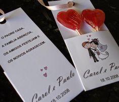 Lembrancinha de Casamento Simples e Barato com pirulito Diy Wedding Favors, Wedding Reception, Wedding Gifts, Wedding Doorgift, Wedding Paper, Isabelle, Decoration, Marie, Dream Wedding